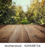 Table Space And Apple Garden O...