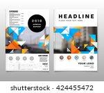 geometric vector backgrounds...   Shutterstock .eps vector #424455472