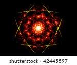Complex Mandala Flower Fractal...