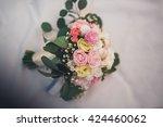 wonderful luxury wedding...   Shutterstock . vector #424460062