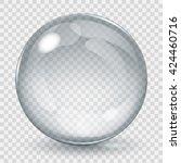 Big Transparent Glass Sphere...