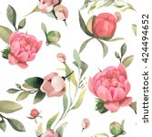 seamless vector pattern with...   Shutterstock .eps vector #424494652