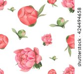 seamless vector pattern with...   Shutterstock .eps vector #424494658