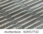 close up car air conditioning... | Shutterstock . vector #424517722