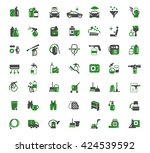 auto chemistry icons | Shutterstock .eps vector #424539592