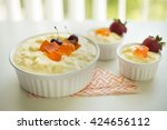 delicious home made fruit... | Shutterstock . vector #424656112