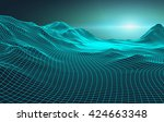 Abstract Vector Landscape...