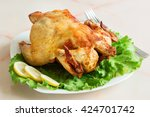 Fried Chicken Grilled With...