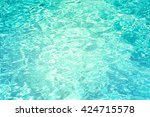 patterns of movement of water... | Shutterstock . vector #424715578