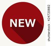 new icon jpg | Shutterstock .eps vector #424720882