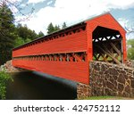 Sachs Covered Bridge Over...