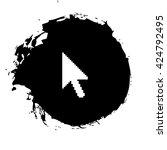vector arrow cursor | Shutterstock .eps vector #424792495