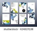 geometric vector background....   Shutterstock .eps vector #424819138