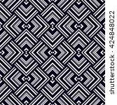 vector seamless pattern. modern ... | Shutterstock .eps vector #424848022