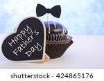 Happy Fathers Day Cupcake Gift...
