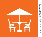 chair icon | Shutterstock . vector #424867372