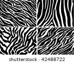 seamless animal pattern skin... | Shutterstock .eps vector #42488722