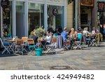 bratislava  slovakia   may 6 ... | Shutterstock . vector #424949482