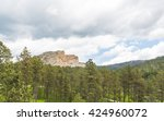 Crazy Horse Memorial Above The...