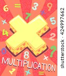 illustration featuring the... | Shutterstock .eps vector #424997662