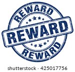 reward. stamp | Shutterstock .eps vector #425017756