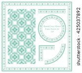 Vintage Frame Pattern Set 328...