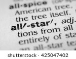Small photo of All-star