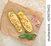 Zucchini Stuffed With...