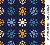 ethnic boho seamless pattern.... | Shutterstock .eps vector #425085025