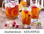 Iced Tea With Orange And...