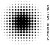 halftone dot vector pattern... | Shutterstock .eps vector #425147806