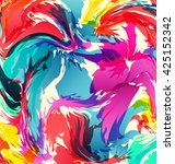 vector colorful abstract... | Shutterstock .eps vector #425152342