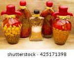 Decorative Glass Amphora Bottle ...