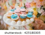 cake decorating | Shutterstock . vector #425180305