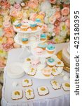 cake decorating | Shutterstock . vector #425180395