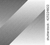 oblique  diagonal lines edgy... | Shutterstock .eps vector #425224822