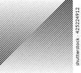 oblique  diagonal lines edgy... | Shutterstock .eps vector #425224912