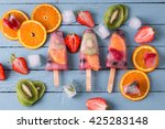 Healthy Whole Fruit Popsicles...