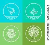 vector infographics design...   Shutterstock .eps vector #425308375