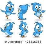 vector cartoon illustration of... | Shutterstock .eps vector #425316355