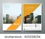 brochure design template vector.... | Shutterstock .eps vector #425328256