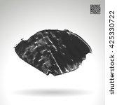 brush stroke and texture.... | Shutterstock .eps vector #425330722