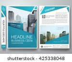 brochure design template vector.... | Shutterstock .eps vector #425338048