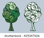vector tree | Shutterstock .eps vector #425347426