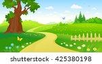 vector cartoon illustration of... | Shutterstock .eps vector #425380198