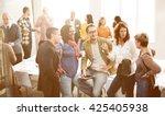 business corporation... | Shutterstock . vector #425405938
