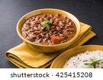 rajma or razma is a popular... | Shutterstock . vector #425415208