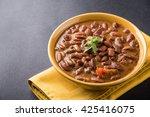 rajma or razma is a popular... | Shutterstock . vector #425416075