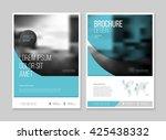 business brochure design.  | Shutterstock .eps vector #425438332
