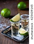 tequila gold  mexican  alcohol... | Shutterstock . vector #425439145